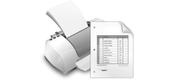 Драйвер для печати счета